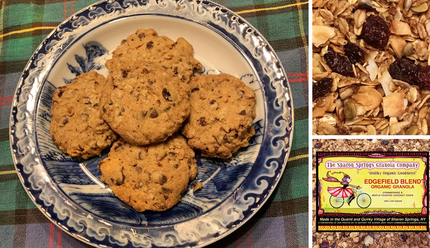 Granola Chip Cookies